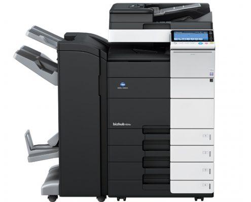bizhub c454e renkli fotokopi makinesi