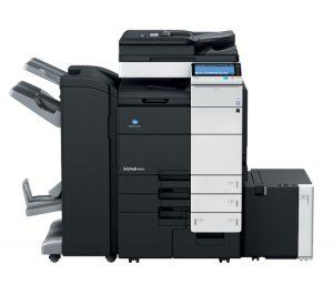 bizhub c654e renkli fotokopi makinesi